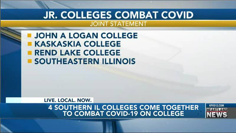 The four SIL colleges are trying hard to keep COVID-19 off of their campuses.