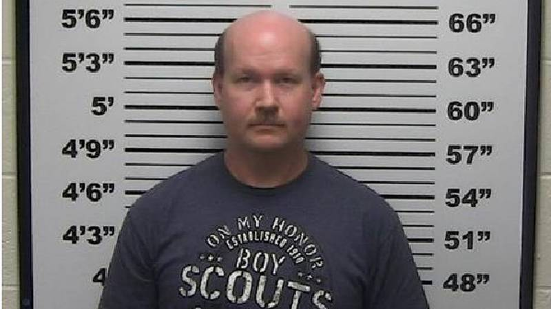 David Lee Nelson is accused of installing cameras in two bathrooms/shower rooms at a St....