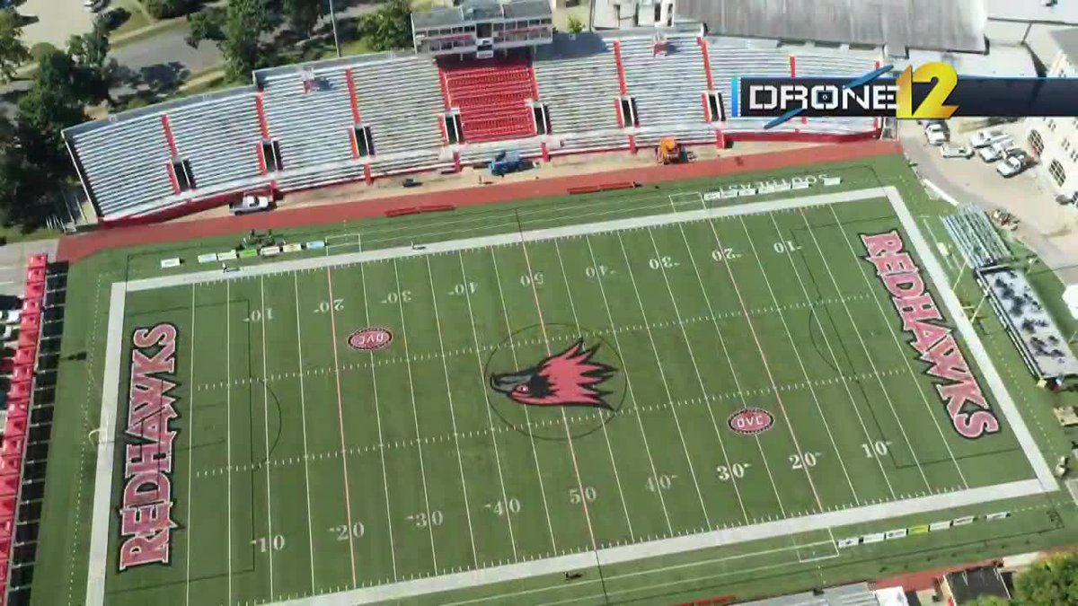 The university said crews will begin demolishing the South Grand Stand at the beginning of...