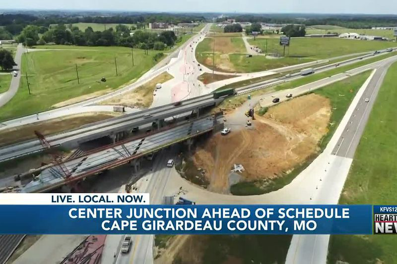 MoDOT ahead of schedule at Center Junction in Cape Girardeau