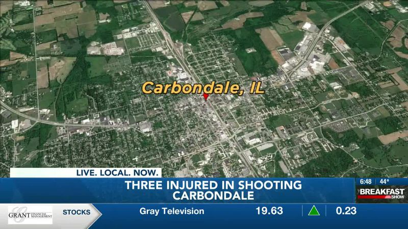 3 injured in shooting at party in Carbondale