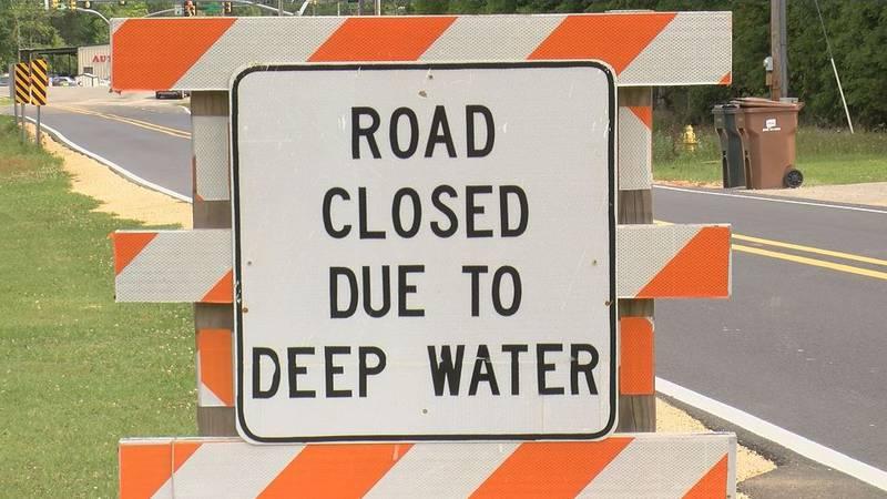 Generic flood sign