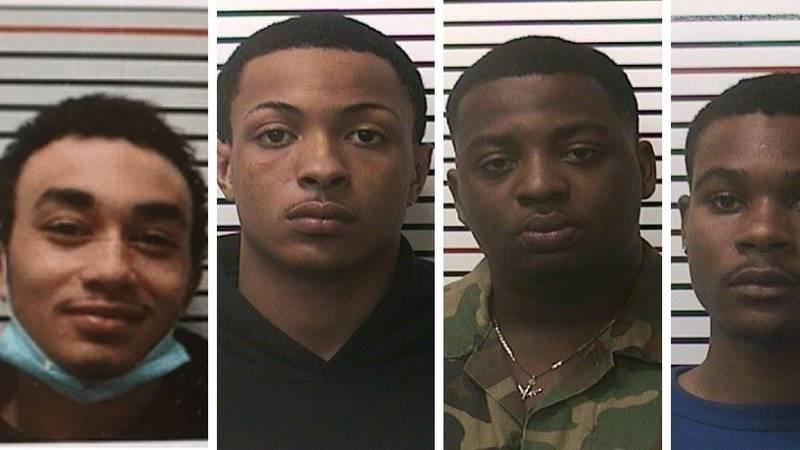 From left: Kerwin J.C. Watson, Jr.; Tyreiq L. Buchanan; Jason L. Wooley; and Darius D. Nelson...
