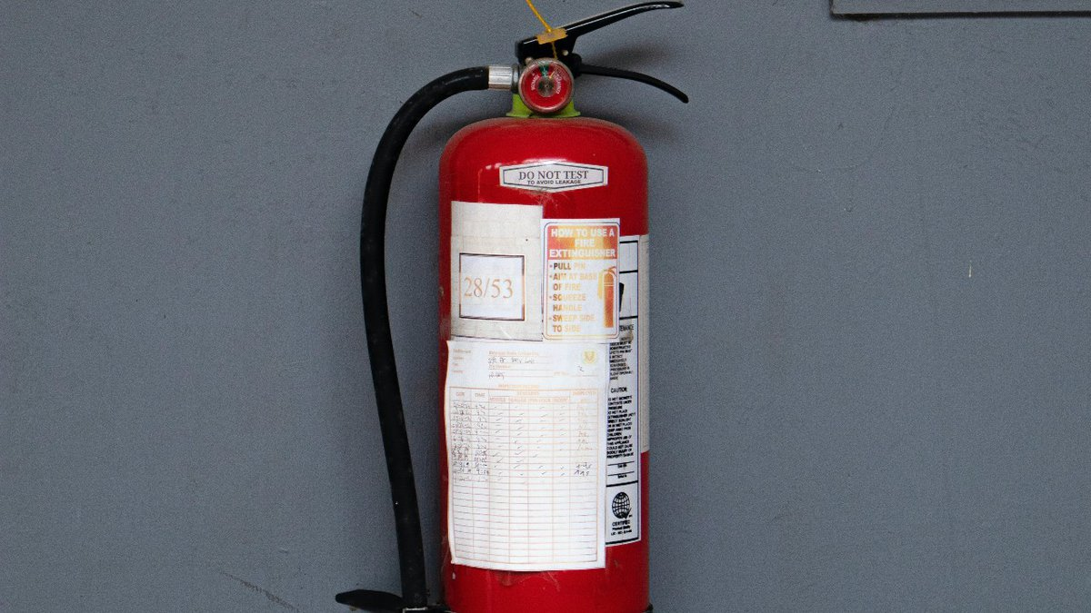 Thanks to a donation, the Herrin Fire Department bought a fire extinguisher training system.
