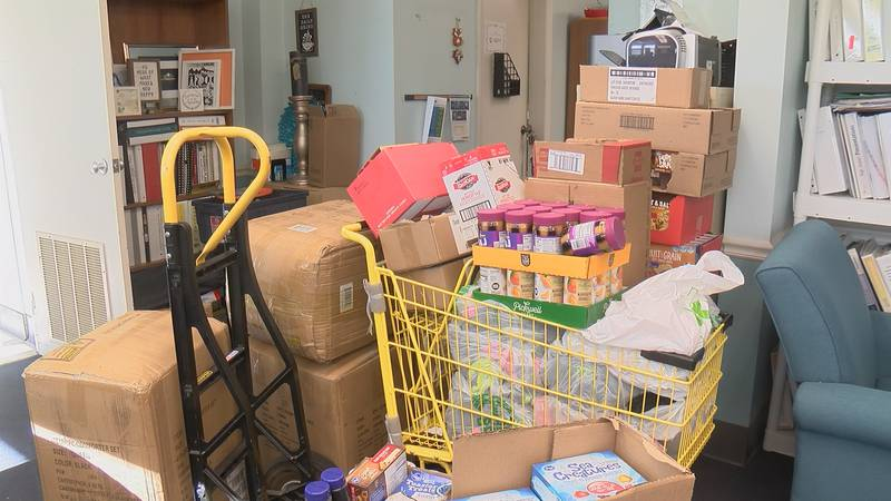 Donations at the Community Partnership of Southeast