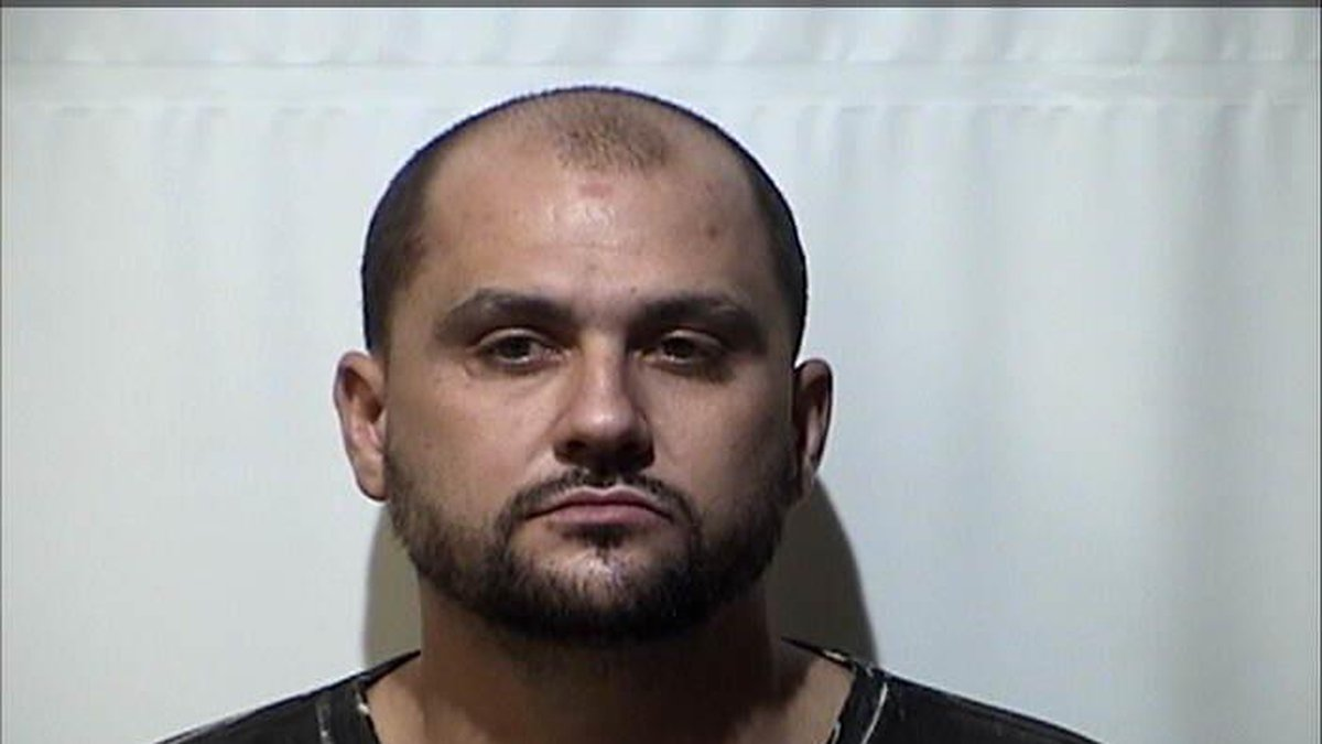 Christopher Roper is accused of breaking into a Paducah pharmacy on September 7.