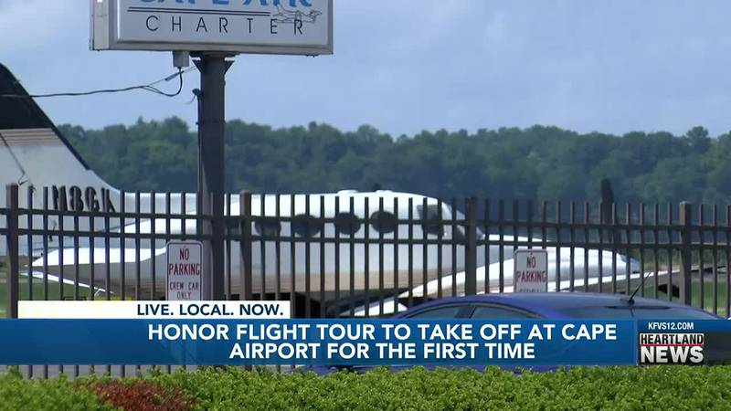 For the first time, the men and women who served in the military will fly out of the  Cape...