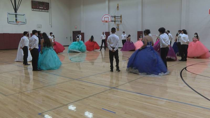 English as a Second Language Club members embraced their Hispanic heritage on Friday, October...