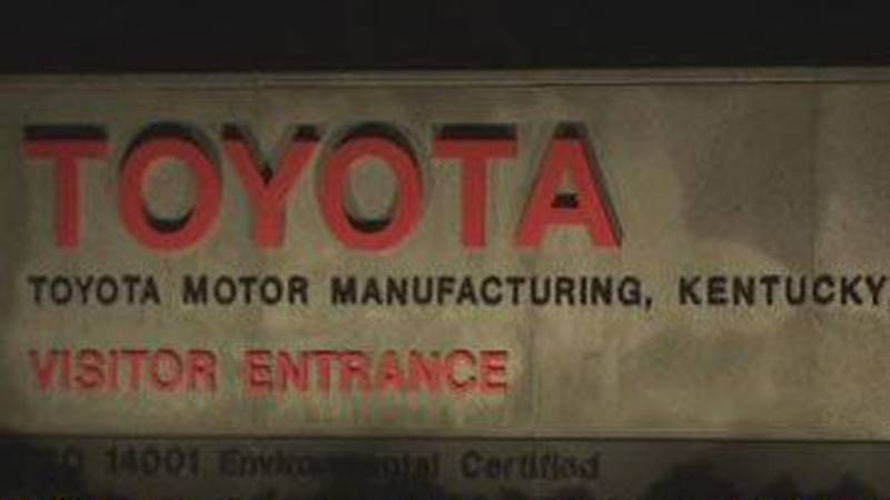 Toyota Motor Manufacturing of Kentucky donated three cars for automotive technology programs to...