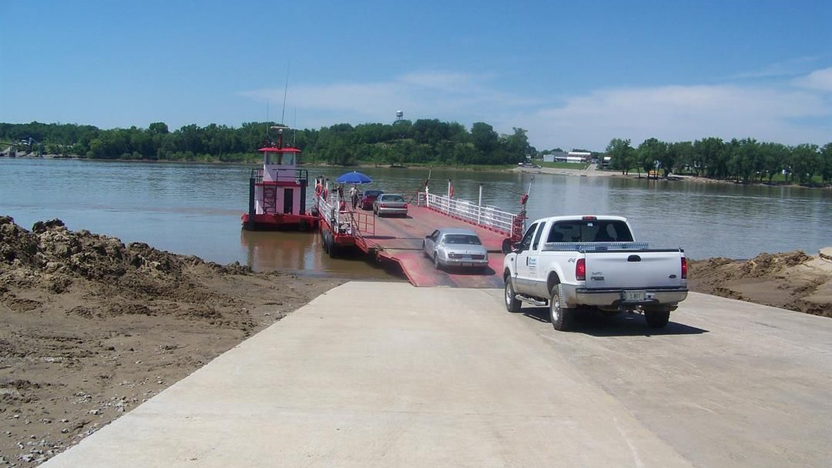 According to the Kentucky Transportation Cabinet, the Cave-In-Rock Ferry plans to reopen on a...