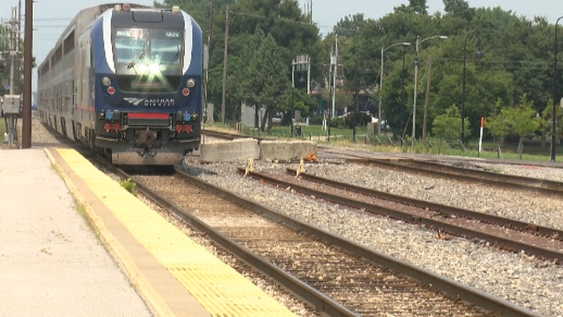 Amtrak state-sponsored trains resumed full service in Illinois on Monday, July 19.