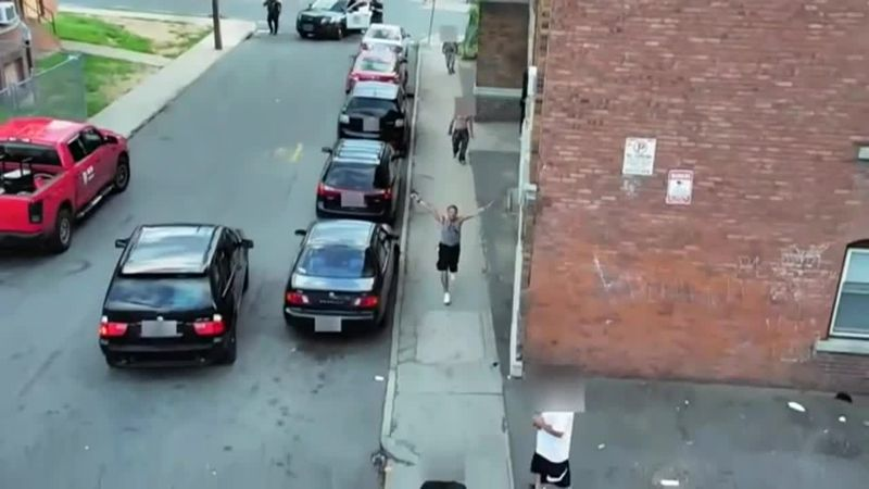 Police released surveillance video showing 43-year-old Jose Montanez with a gun. (Source:...