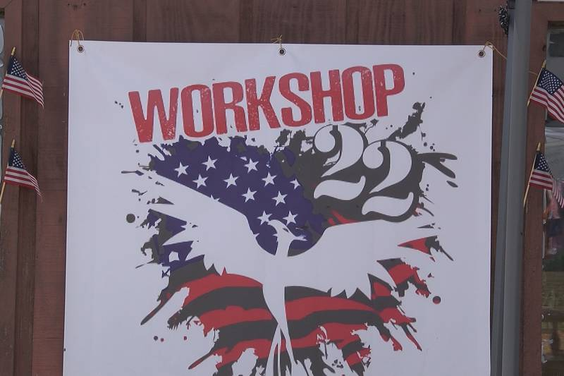 Workshop 22 helps veterans with programs like a woodshop, food and clothing pantry, free...