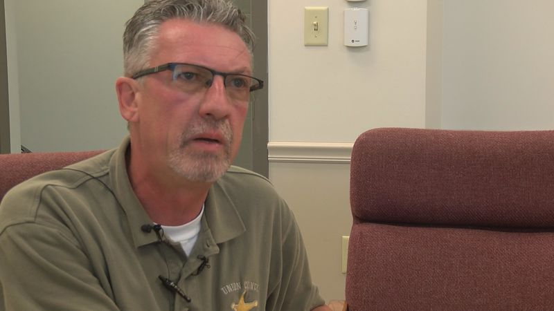 Union County Sheriff Scott Harvel has served in law enforcement for 34 years.