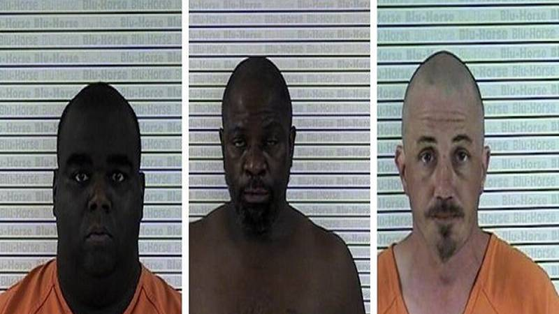White, Hutchinson and French (Source: Graves County Jail)