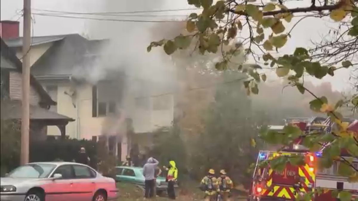 Crews responded to a house fire on Lorimier St. on Monday, October 26.