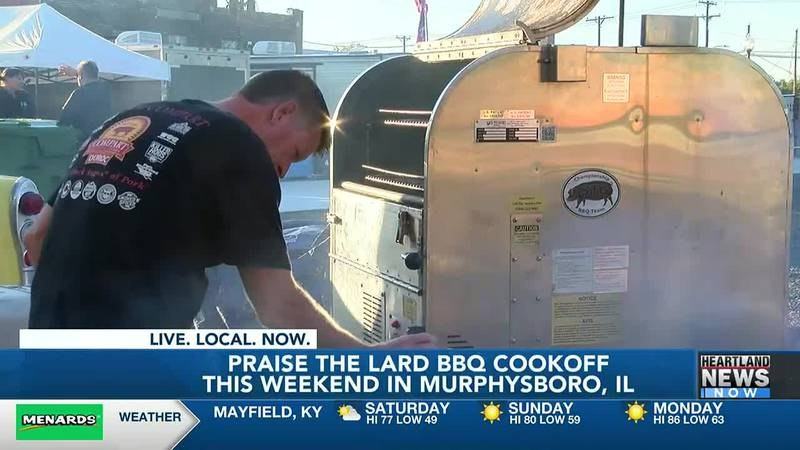 Praise the Lard BBQ cookoff is this weekend.