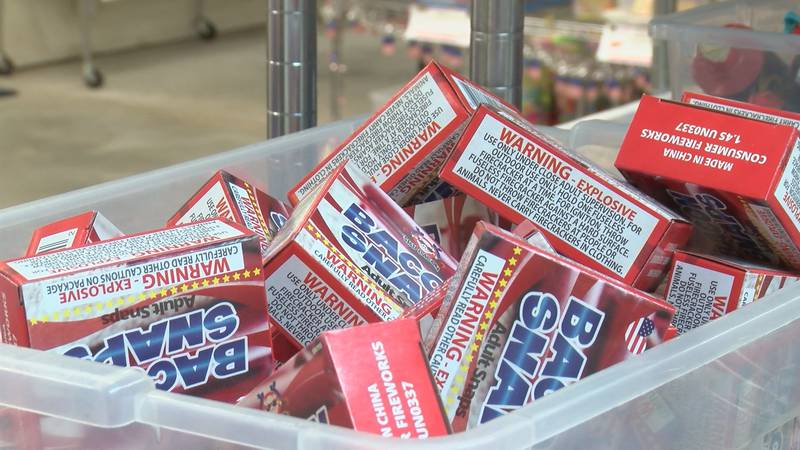 If you're planning your own home fireworks show for Independence Day, you may not get the bang...