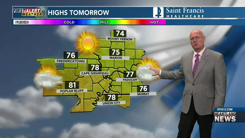 First Alert Forecast at 10 p.m. on 9/24/21