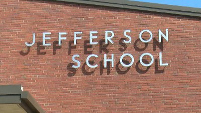 Ground was broken for a new pool at Jefferson Elementary School.