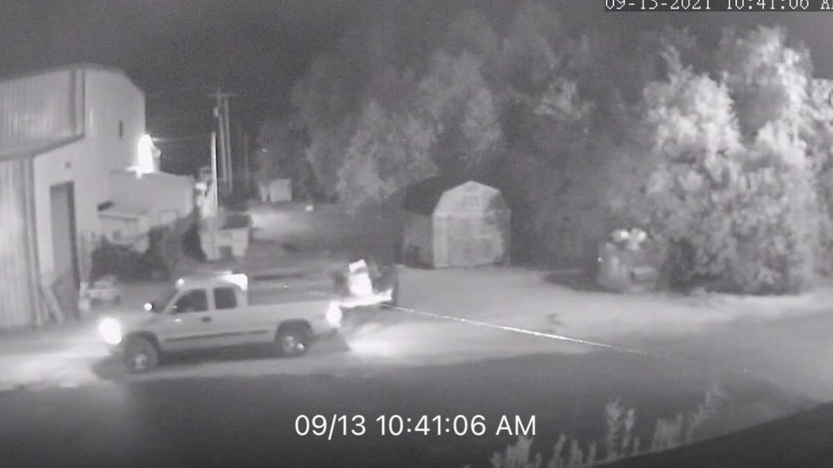 The McCracken County Sheriff's Office is investigating a theft case involving the car shown in...