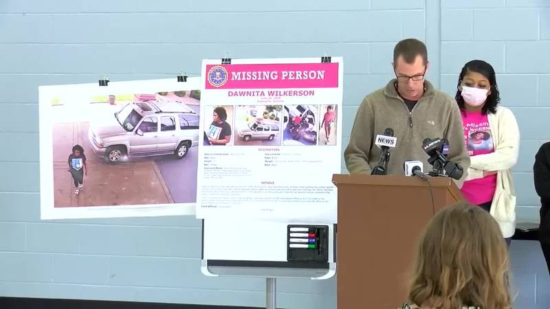 Full news conference: EPD, FBI share updates in Dawnita Wilkerson case
