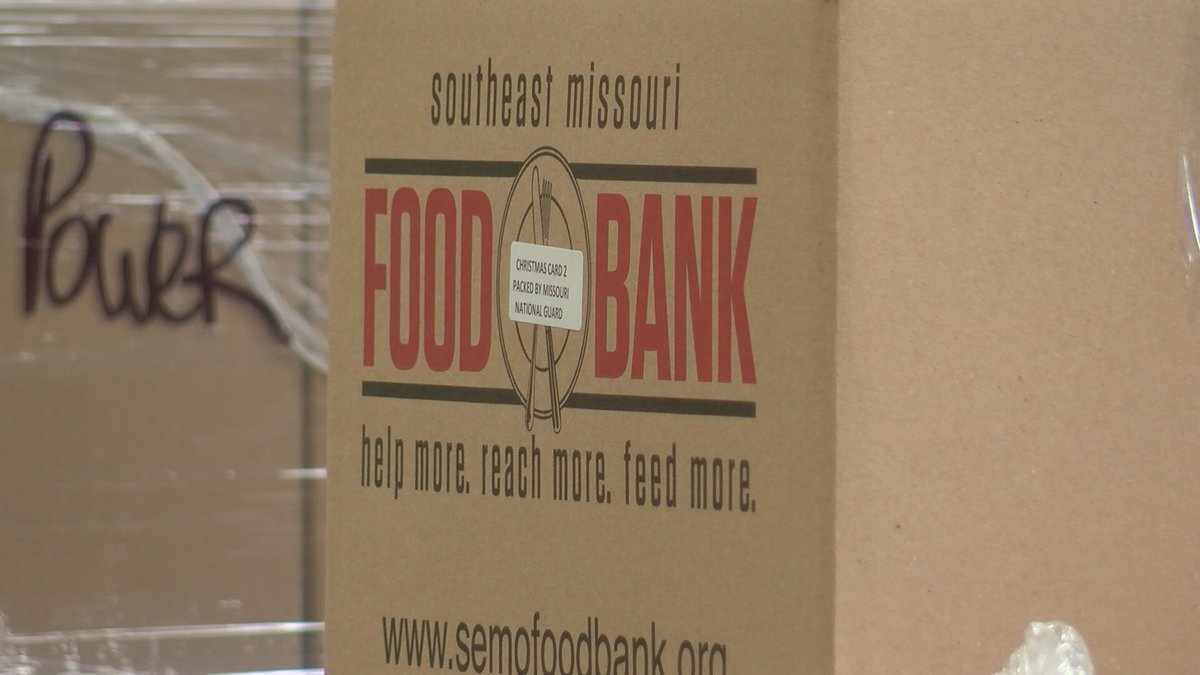 The SEMO Food Bank and Catholic Charities of Southern Missouri say they have seen a increase in...