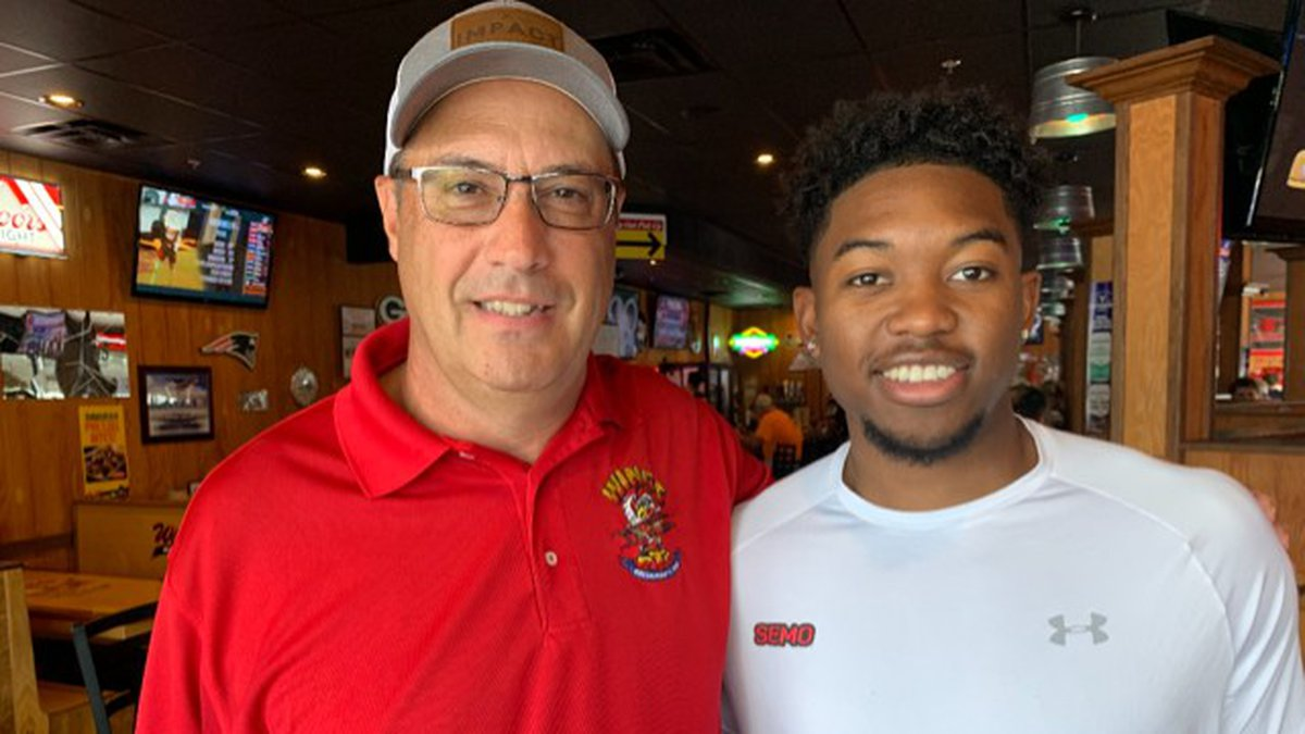 SEMO men's basketball player Nygal Russell has signed a name, image and likeness policy deal...