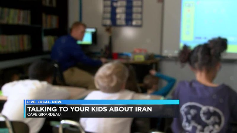 Talking to your kids about Iran