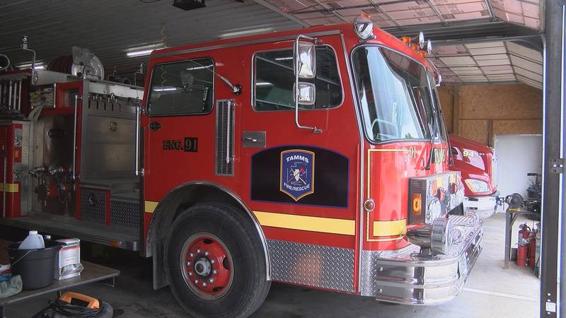 Tamms Fire Rescue is down a few firefighters and is looking to fill at least seven positions...