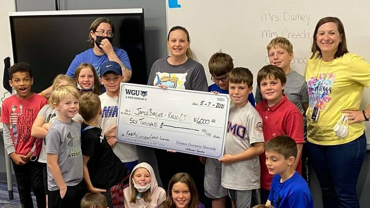 Four teachers from the Southeast Missouri area have received grants totaling $6,400 through WGU...