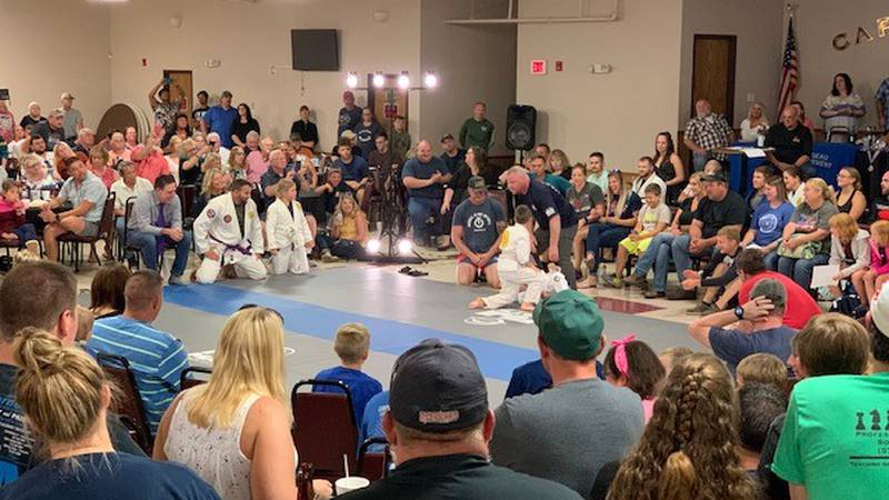 Grappling 4 Good raised money for the Special Olympics.