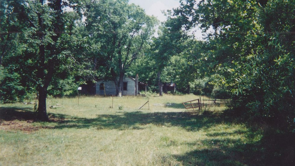 Property in Carter County where authorities believe Rowland was likely killed.