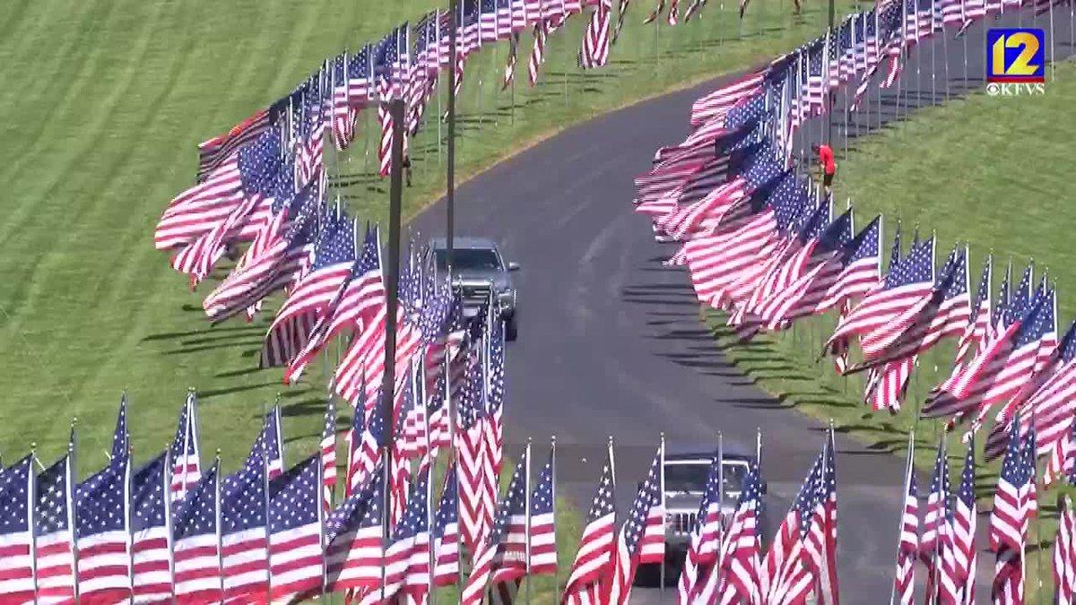 Avenue of Flags in Cape Girardeau, Mo.
