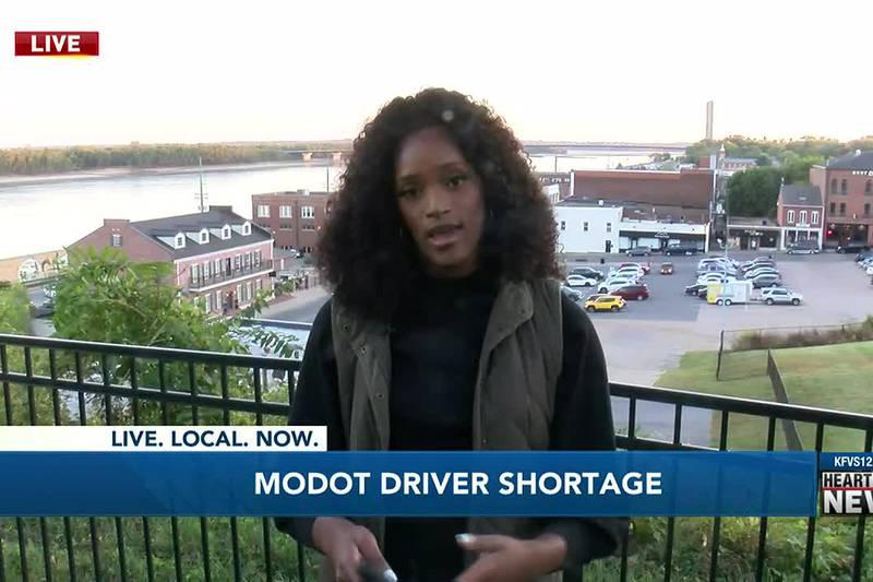 MODOT facing driver shortage.