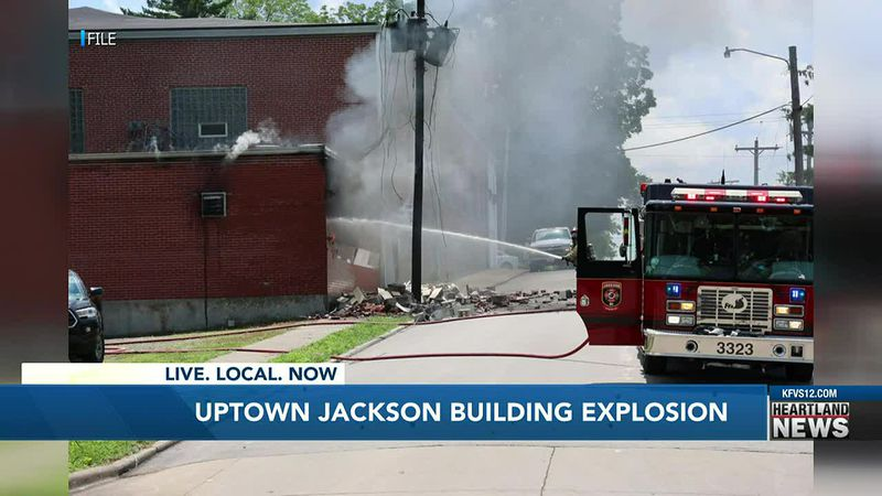 Building in Uptown Jackson explodes