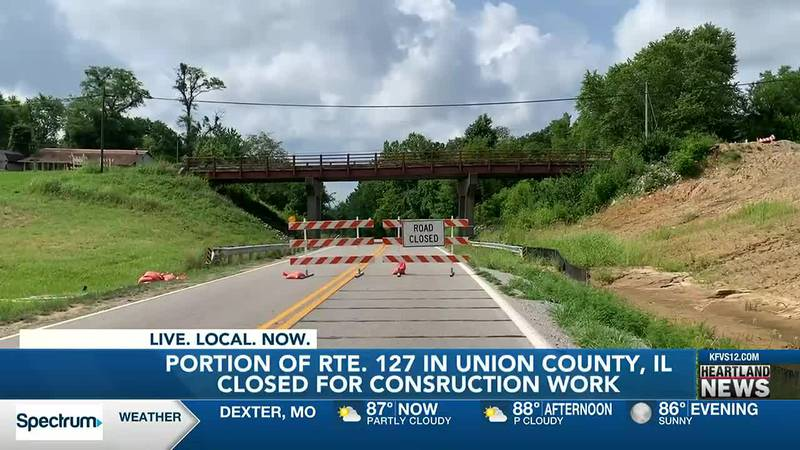 Portion of Rte. 127 closed at Alto Pass