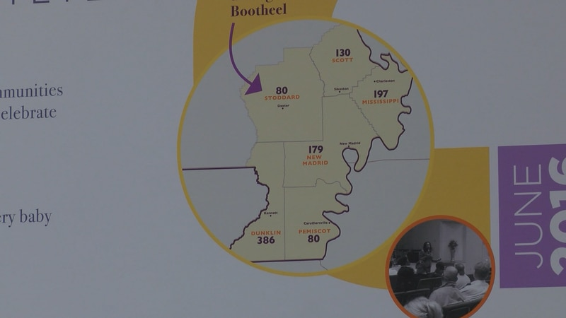 The Bootheel's infant mortality rate in a 6.0.