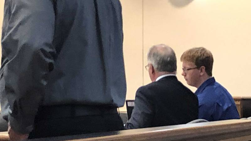Gabe Parker is in court on Aug. 19 (Source: KFVS)
