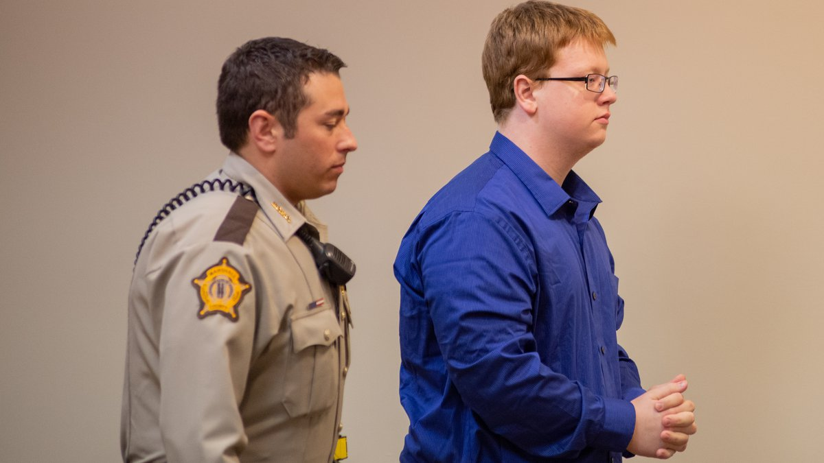 Accused Marshall County High School shooter Gabriel Parker enters circuit court for a hearing...
