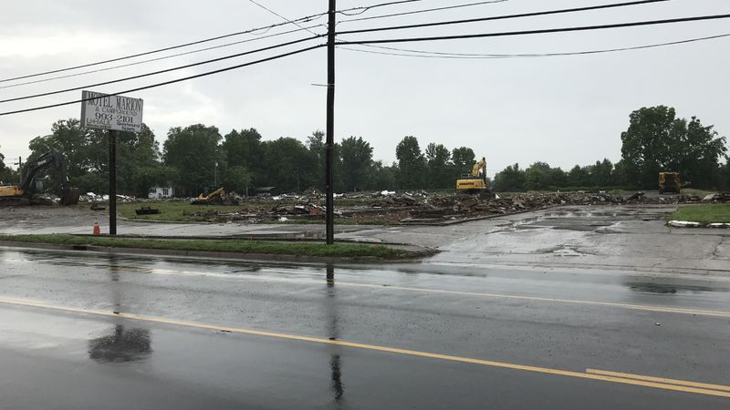 According to Marion police, a body was found on Tuesday, June 8 at the current demolition site...