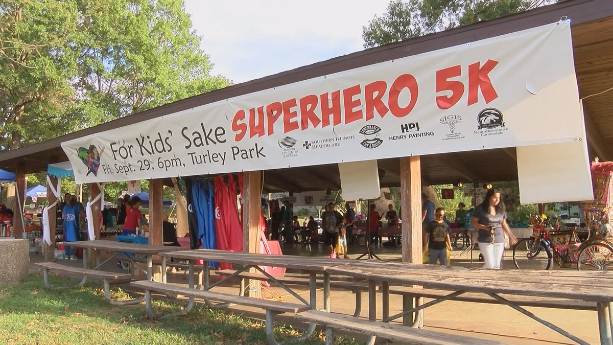 For Kids' Sake will be hosting one of the largest 5K's in southern Illinois Saturday, Oct. 6 at...