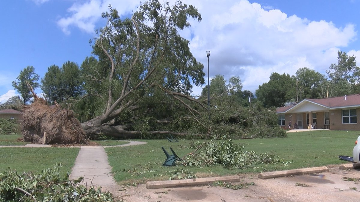A tornado ripped through Dexter, Mo. on Saturday, July 10.