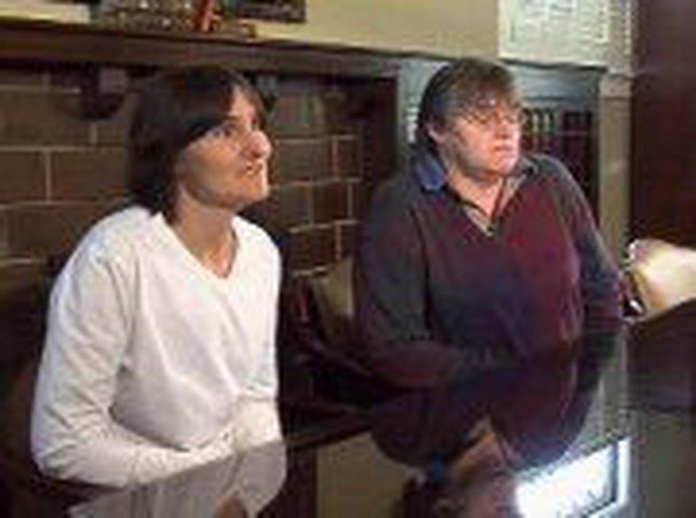 Ann Cornett and Pam Deluna