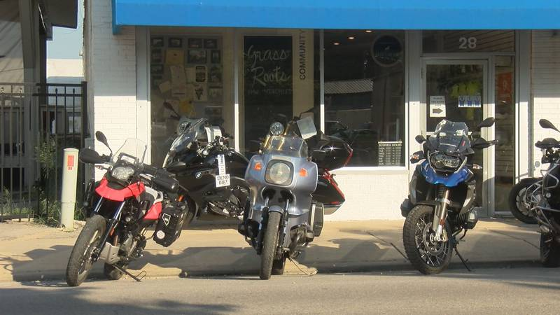 Downtown Cape Girardeau businesses are excited to see bikers cruise into town and into their...