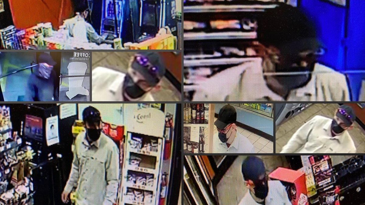Deputies say the burglary suspect was seen using stolen credit cards from the burglaries at two...