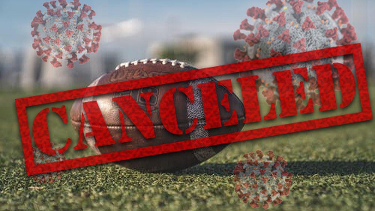 Football game canceled