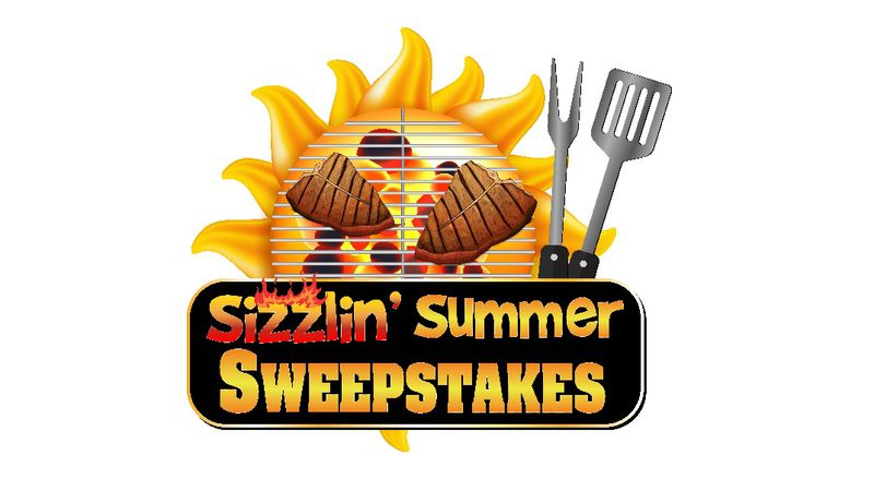Enter to WIN in the Sizzlin' Summer Sweepstakes.