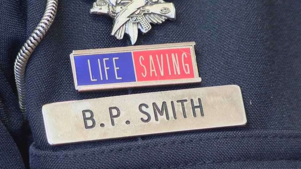 Smith and Dunavan were commended for their efforts that day, but both say - Maddyson's life is...