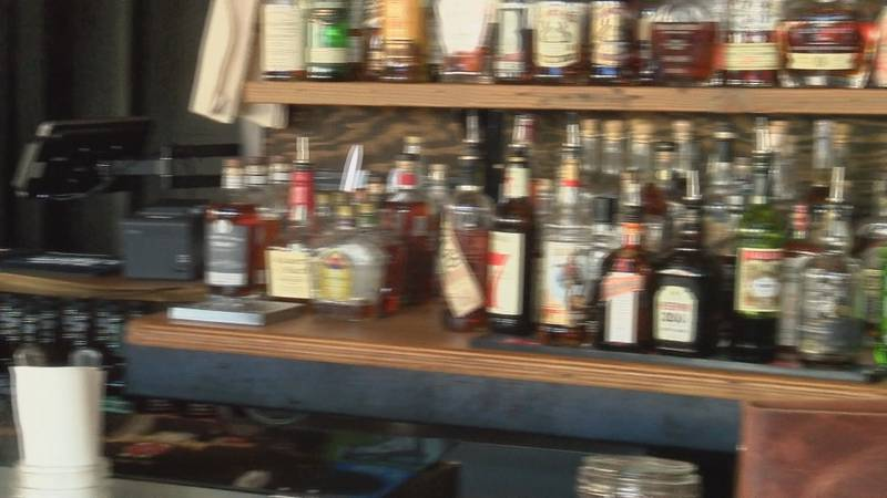 Al Munoz said as long as customers take their drinks home safely, his restaurant will take...